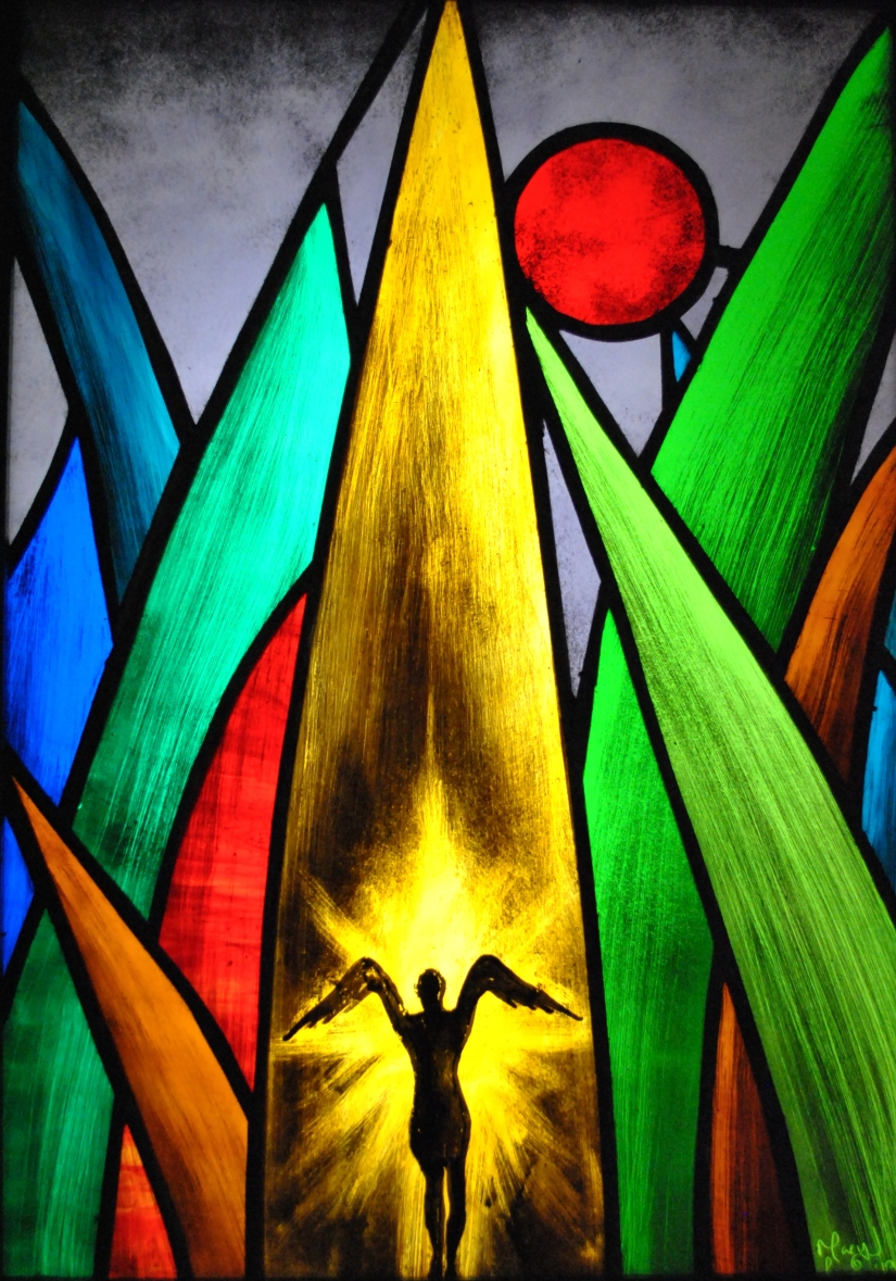 Nature Spirit Stained Glass Mary Leen