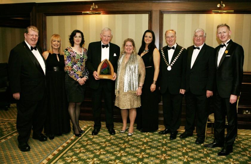 Spirit of Cork Award by Artist Mary J. Leen