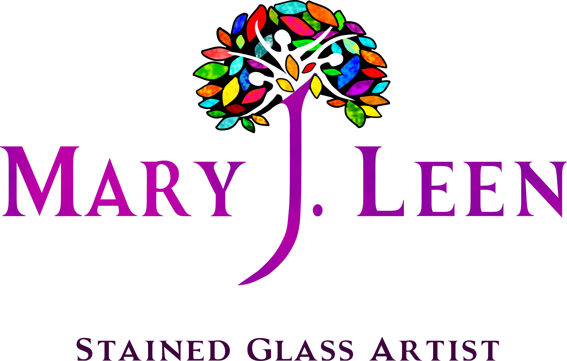 Unique hand crafted Irish Stained Glass Art
