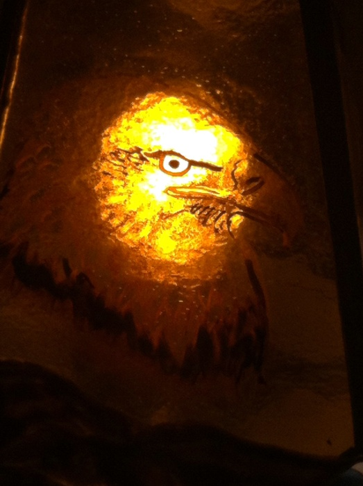 Eagle power animal meditation lamp mary leen